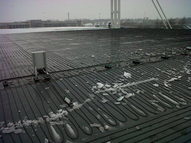 Automated Roof Heating