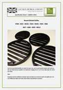Round Vents, Grilles and Drain Grates