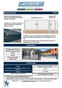 DataSheet - Balustrade Gate