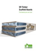 3. SR Timber Scaffold Boards Brochure
