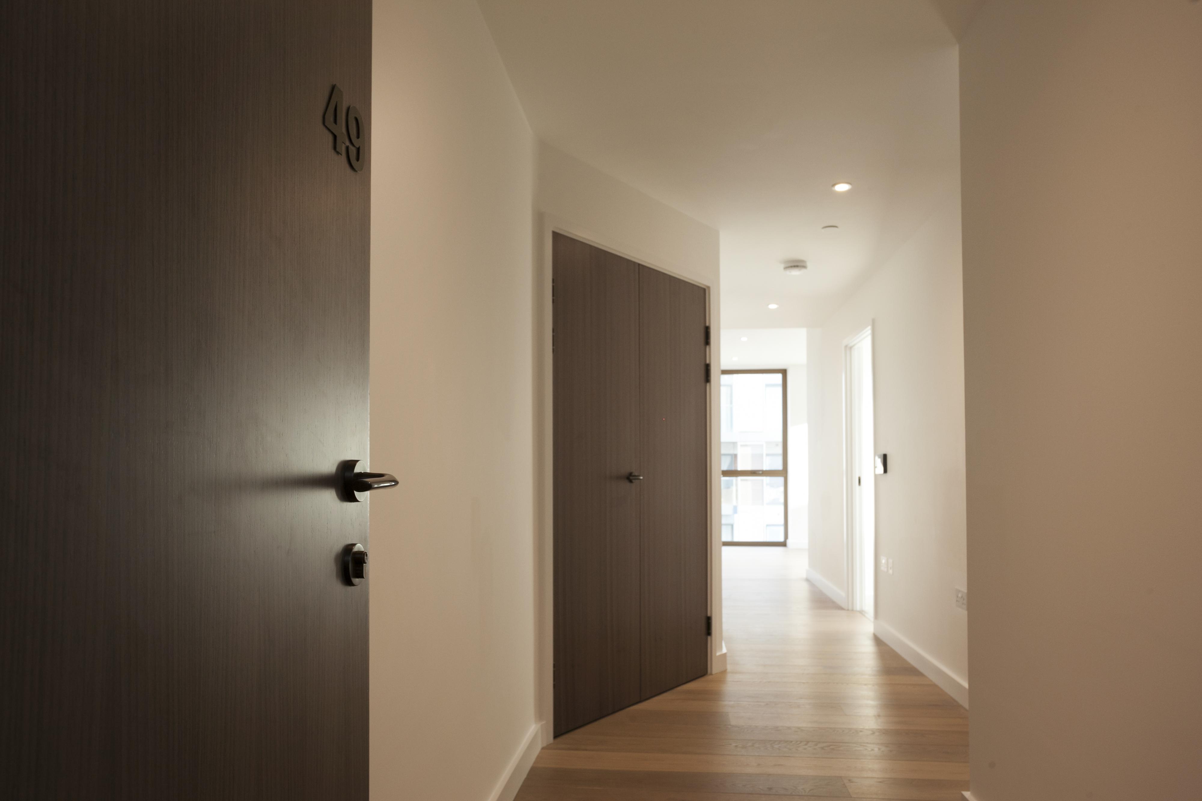 Stained Doors with Integra Living Ironmongery