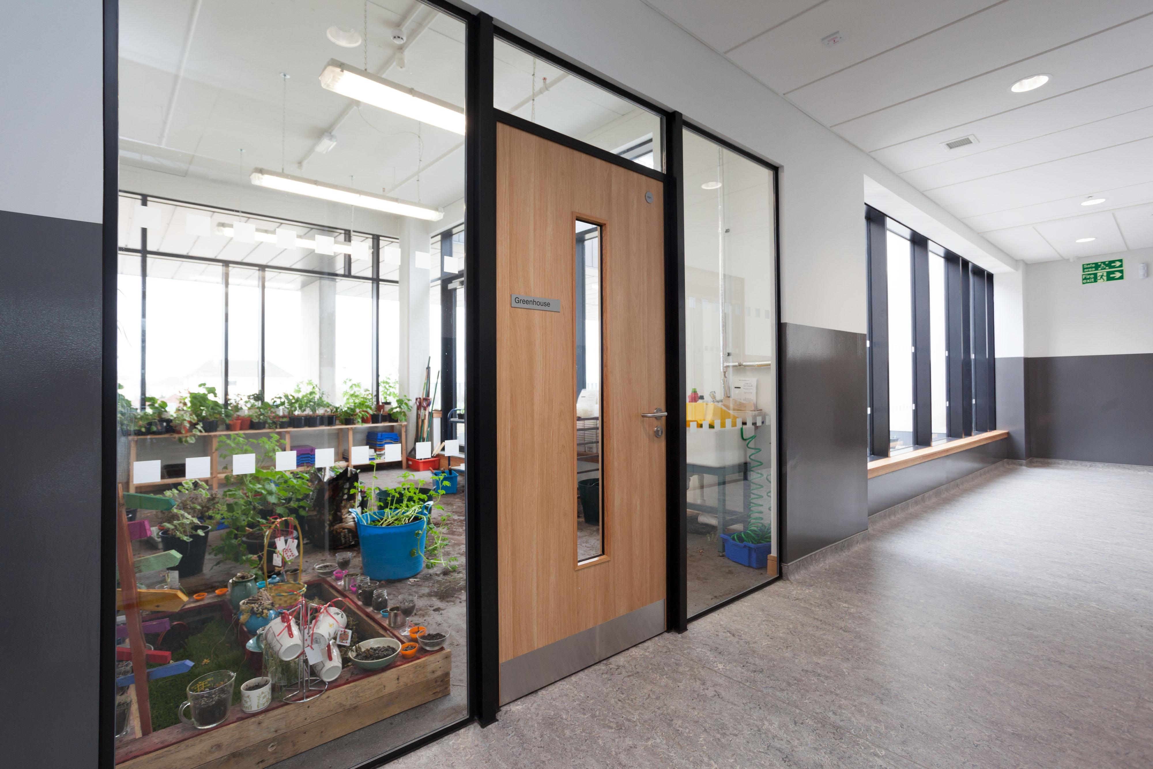 Integra Doorset Glazed Screen