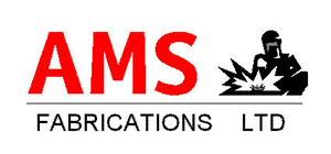 AMS Fabrications Ltd logo.